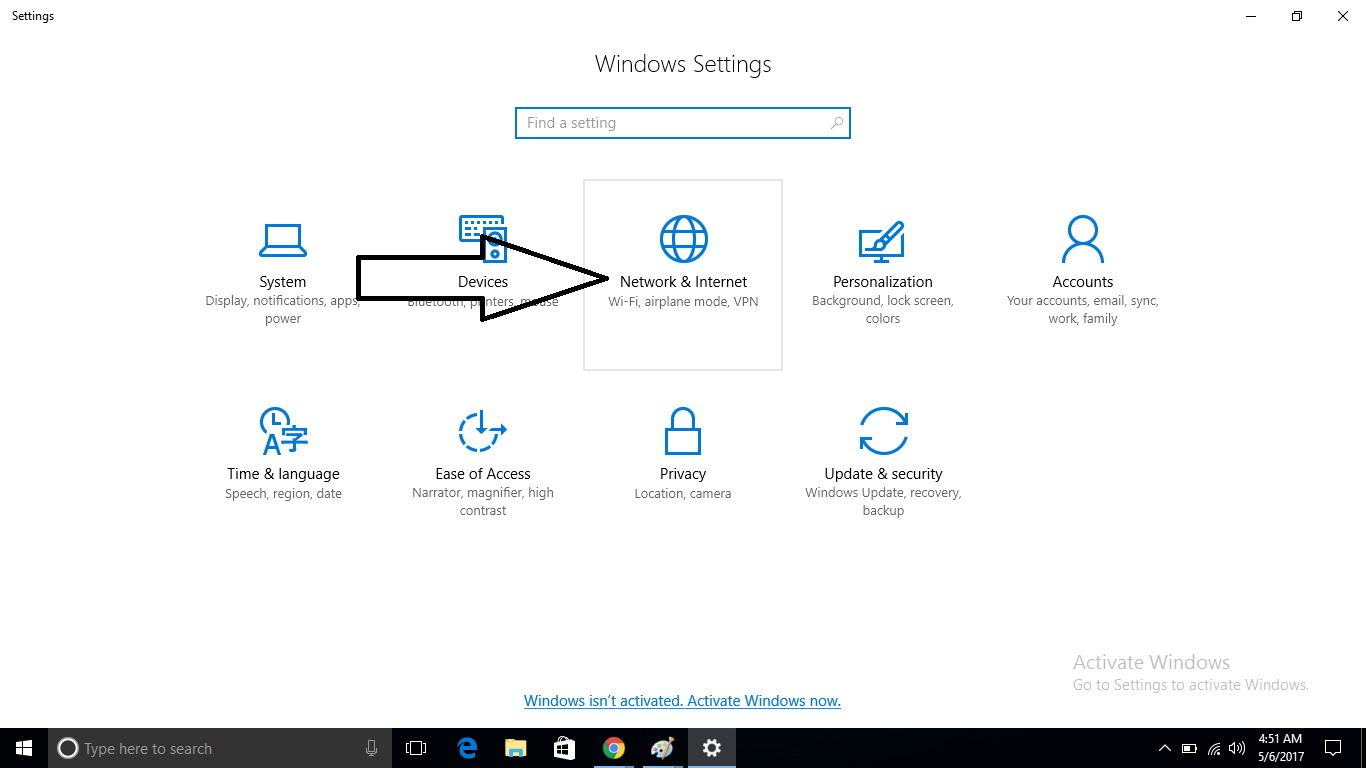 create windows 10 hotspot