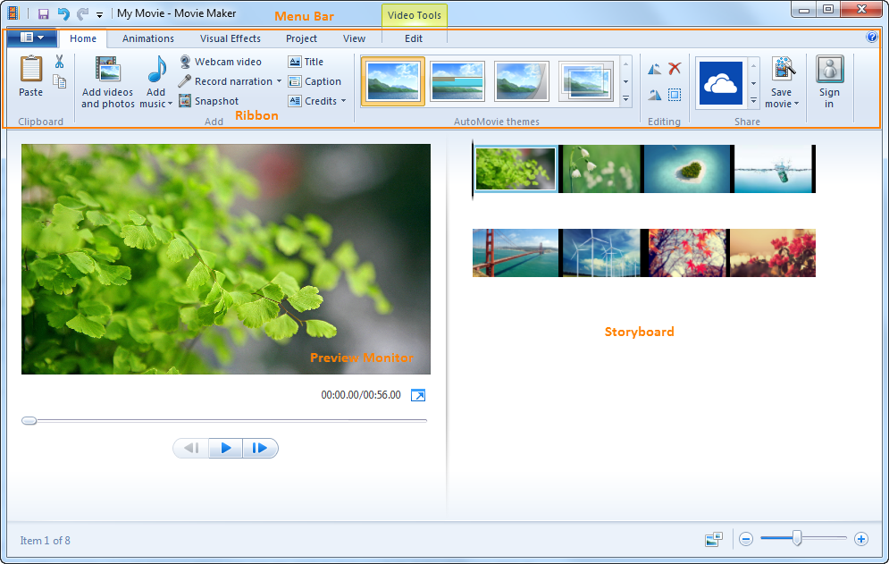 Windows Movie Maker (Windows)