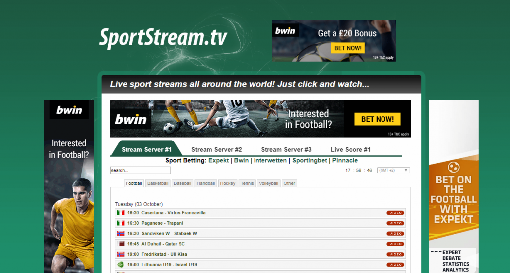 SportStream-wiziwig alternative