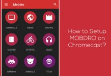 how to install mobdro on chromecast