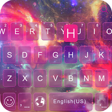 galaxy emoji keyboard theme